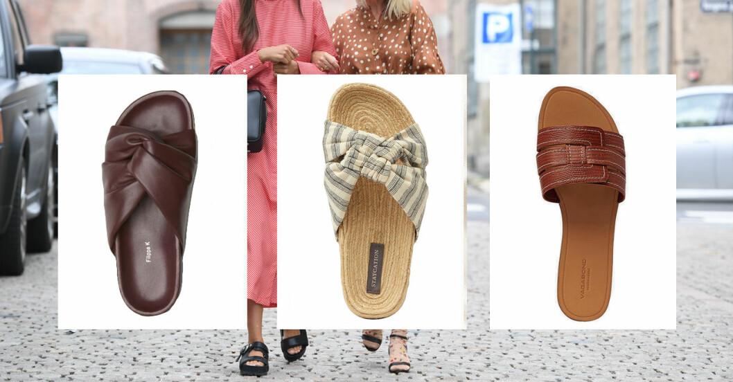 Sandaler att ha hela sommaren