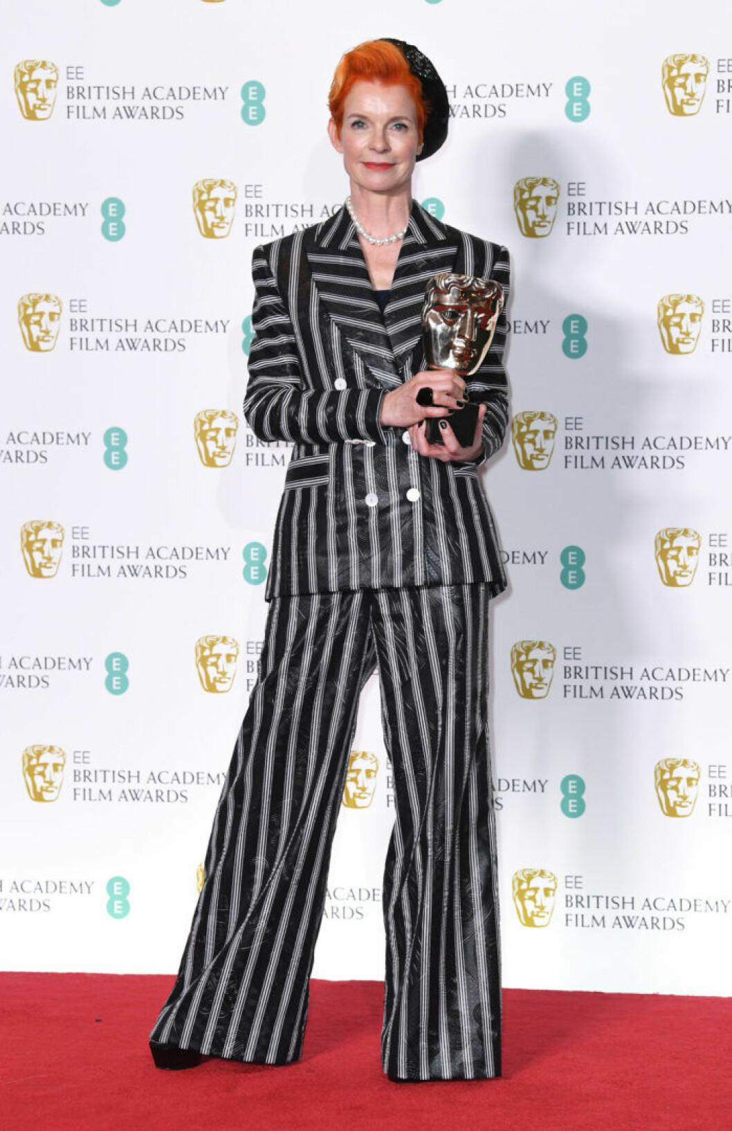 Sandy Powell på BAFTA 2019