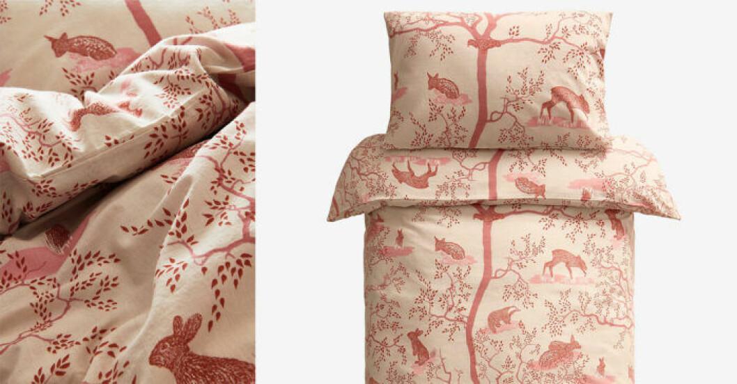 Sängkläder för barn, med djur
