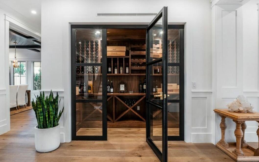 Vinrummet i Sarah Hylands nyköpta hus