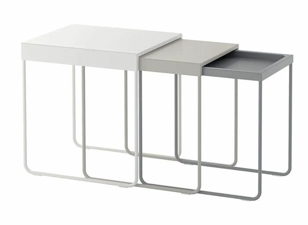 Satsbord från Ikea - perfekta i den första lägenheten