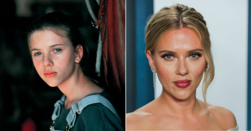 Scarlett Johansson slog igenom i The Horse Whisperer.