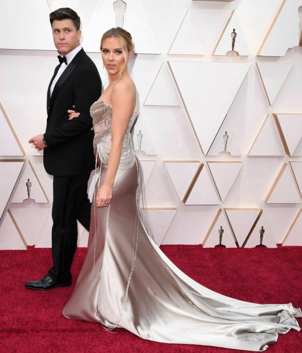 Scarlett Johansson och Colin Jost