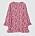 Blommig tunika i olika nynaser av rosa, långa vida ärmar och lätt nedställd nertill. Topp från Day Birger et Mikkelsen.