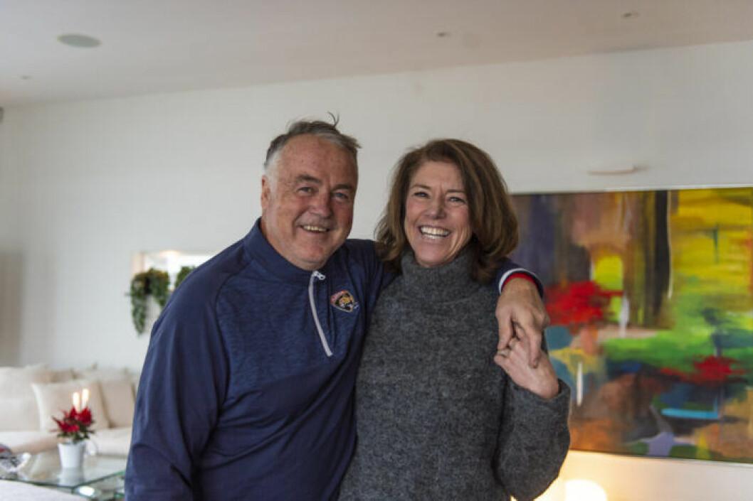 Kent Nilsson, före detta ishockeyspelare, och Helen Alfredsson, före detta golfspelare.