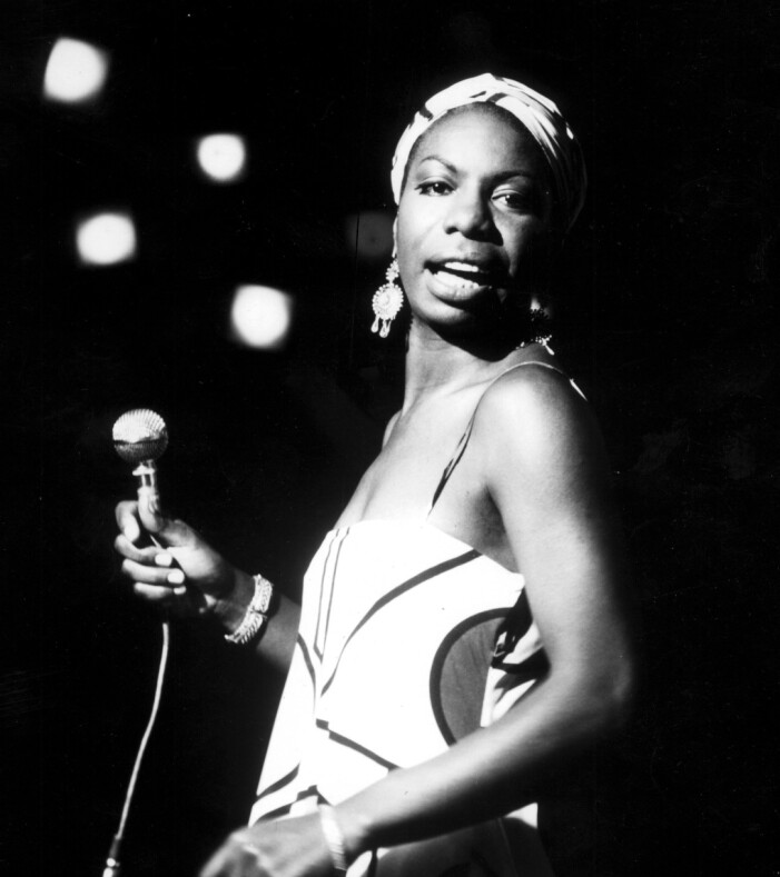 Sångerskan Nina Simone