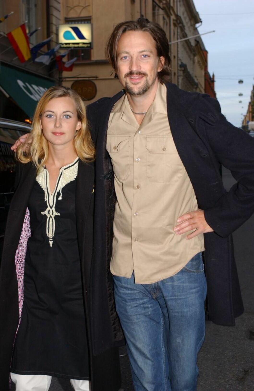 Wille Crafoord och Sanna Lundell.