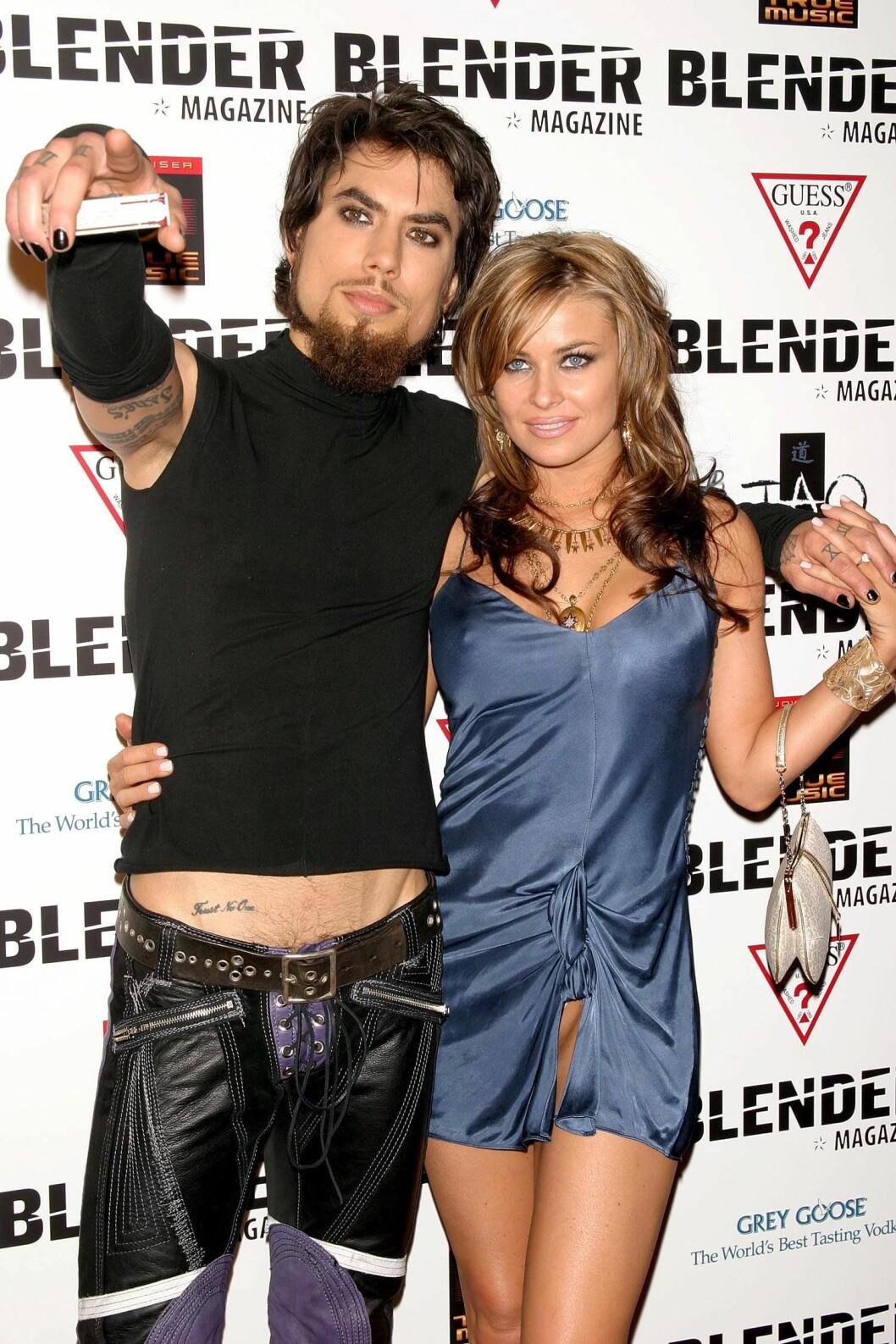 Carmen Electra och Dave Navarro
