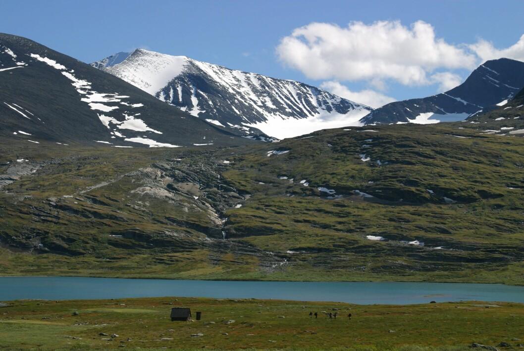 Kungsleden Lappland