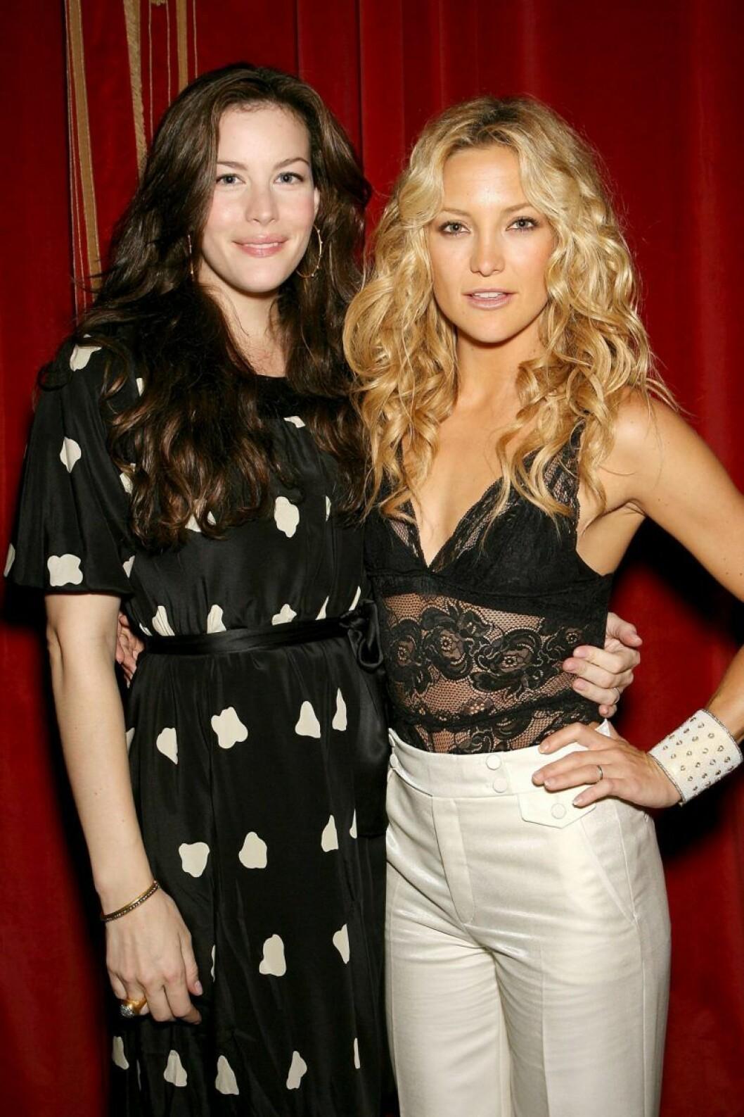 Liv Tyler och Kate Hudson är goda vänner.