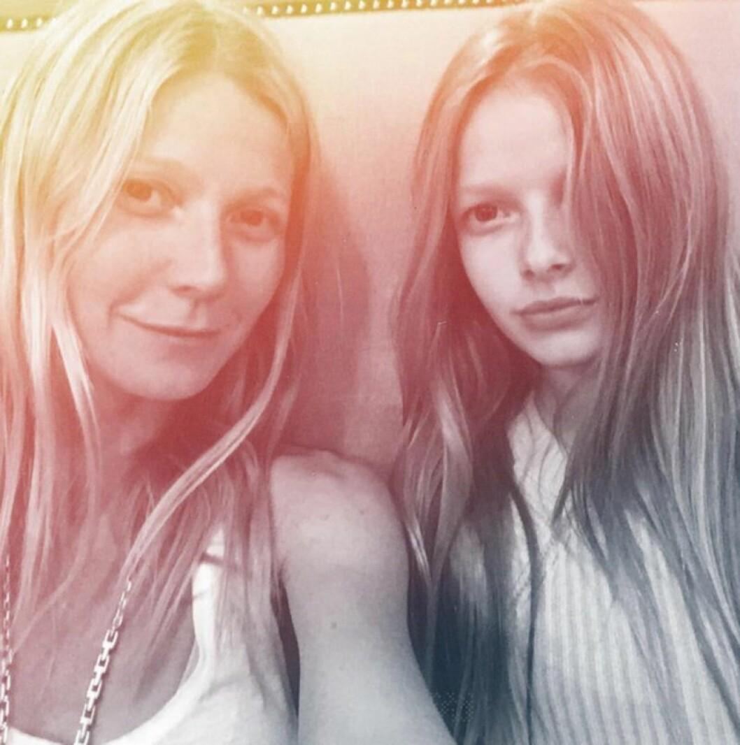 Gwyneth Paltrows dotter Apple
