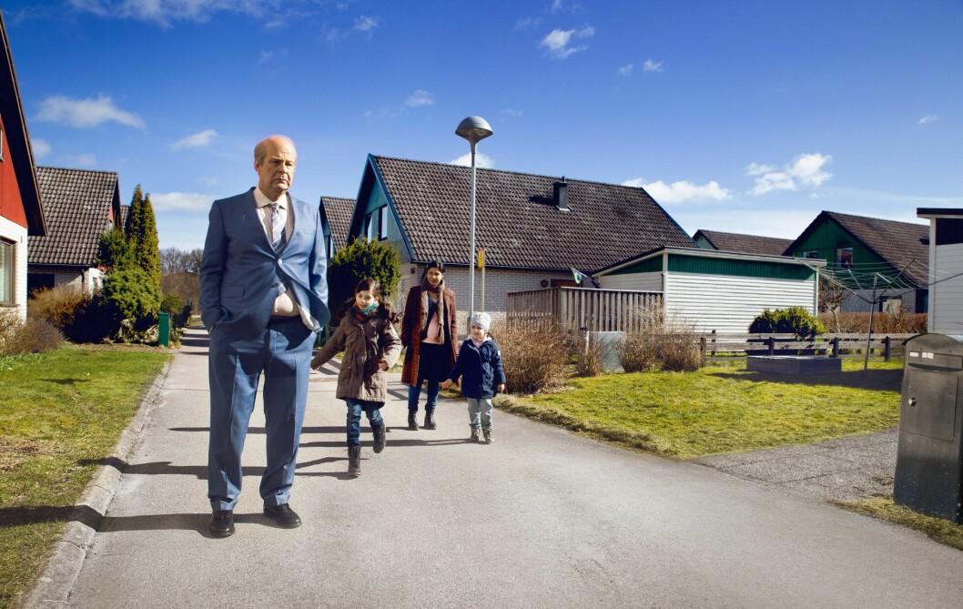 """Bahar Pars spelade Parvaneh i filmen """"En man som heter Ove"""" med Rolf Lassgård"""