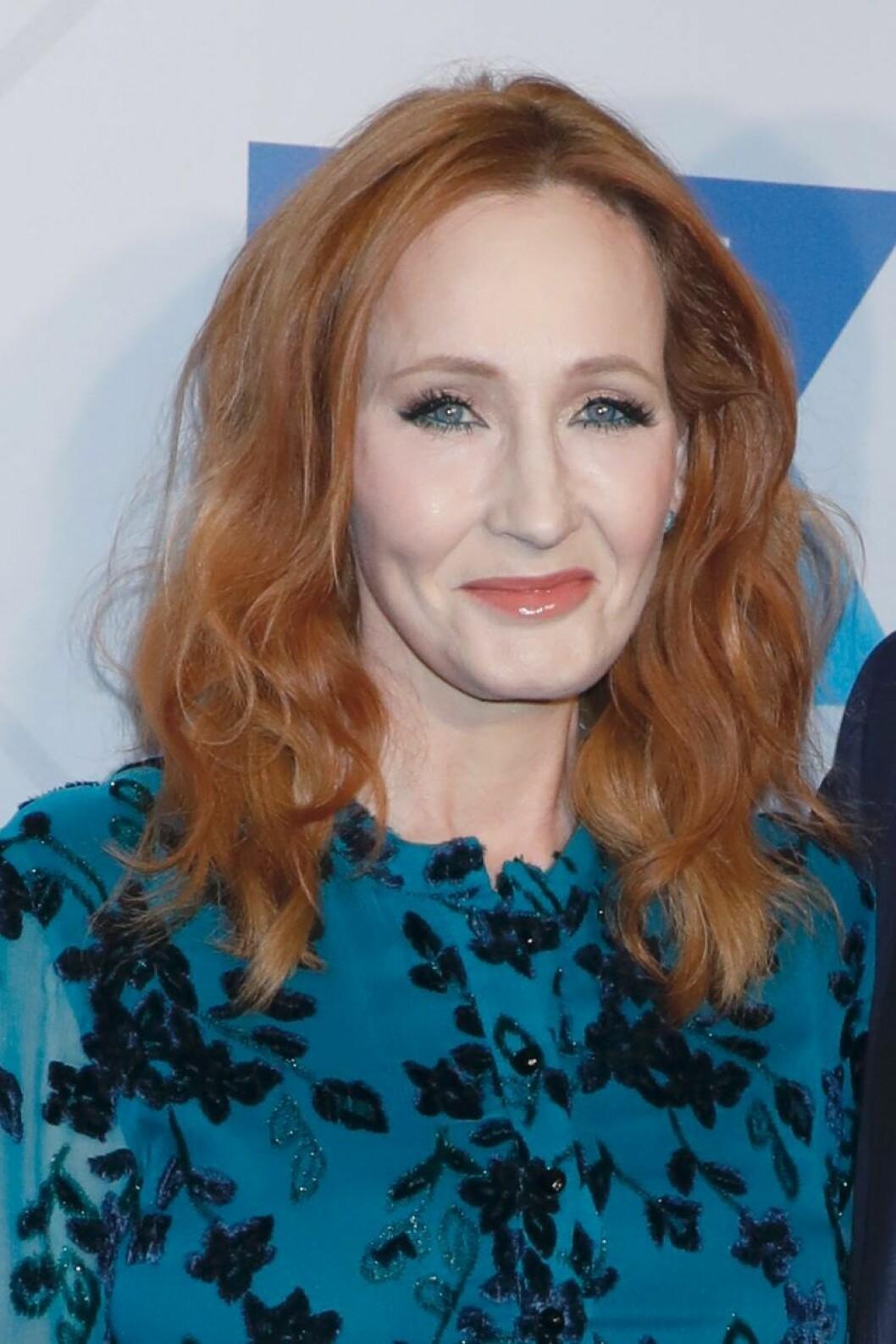 J.K Rowling.