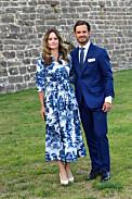 Prins Carl-Philip och prinsessan Sofia vid Victoriakonserten i Borgholms slottsruin 2020