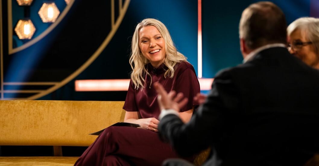 Carina Bergfeldt gör en till säsong i SVT.
