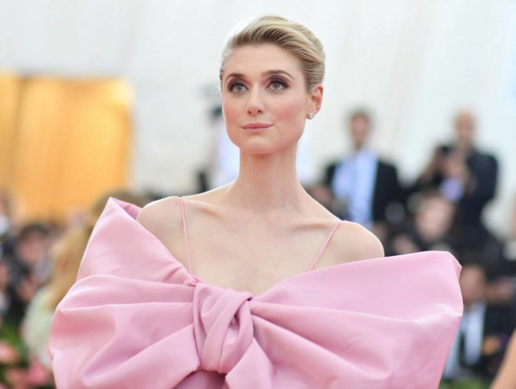 Elizabeth Debicki på gala vid The Metropolitan Museum of Art's Costume Institute