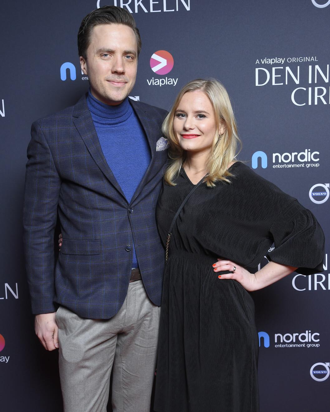 Juristen Philip Stragne och Ebba Hultkvist Stragne.