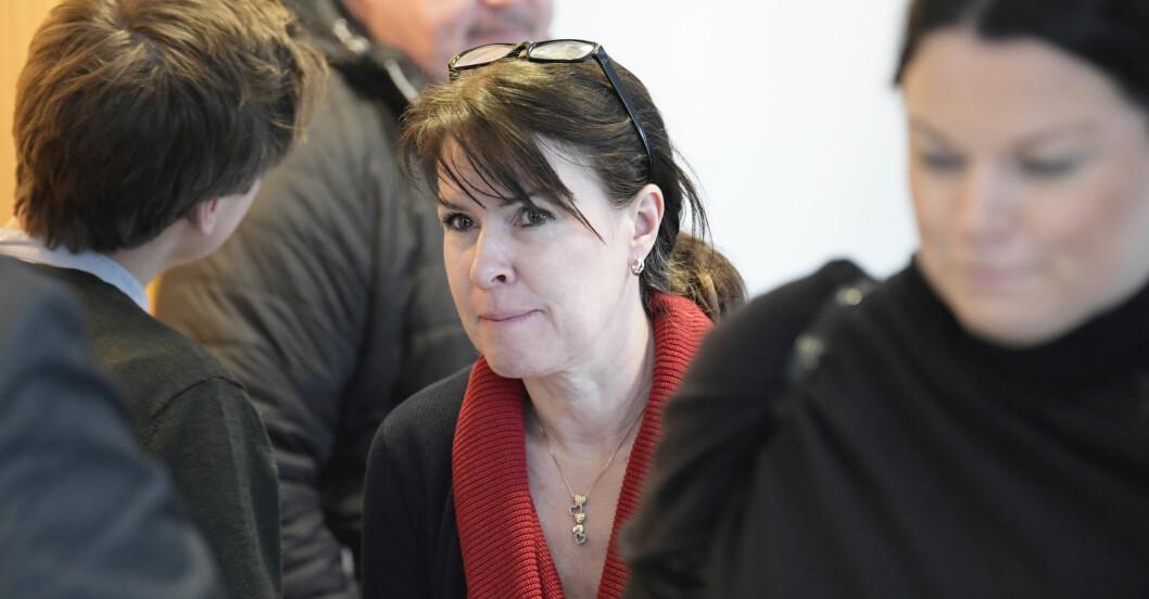 """Åsa Waldau, som i Knutby-dramat hade epitetet """"Kristi Brud"""" dömdes 2020 till villkorlig dom och samhällstjänst för åtta fall av misshandel mot tidigare församlingsmedlemmar."""