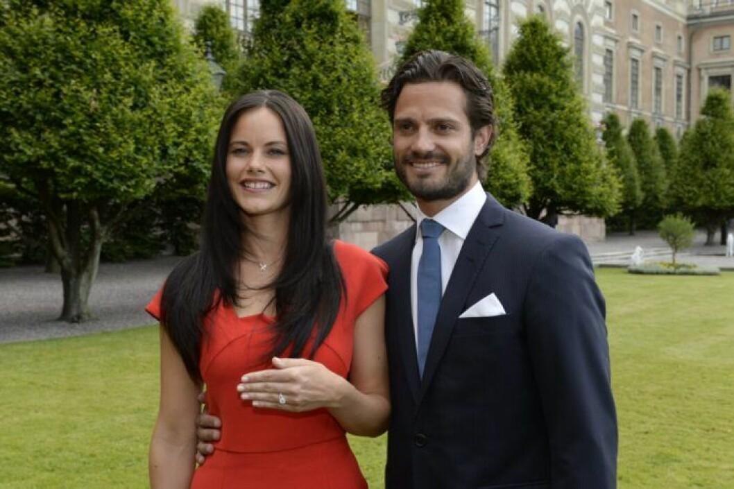 Prinsessan Sofia och prins Carl Philip.