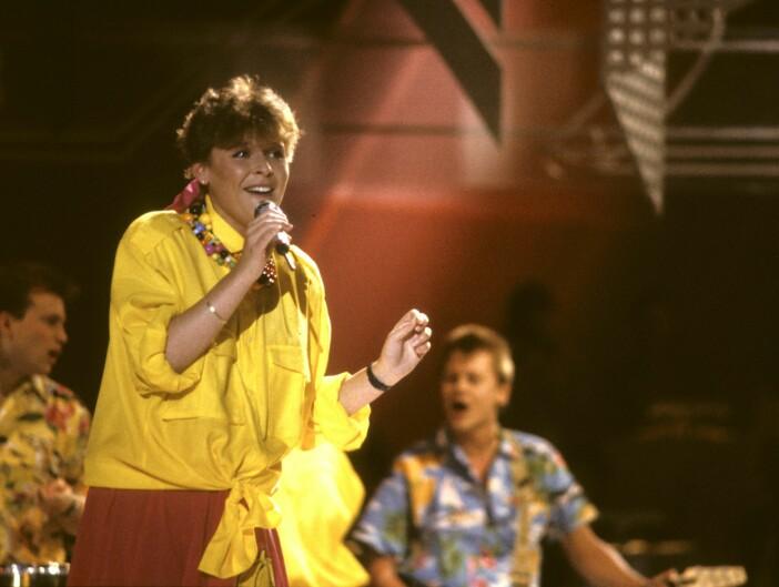 LOTTA ENGBERG i Melodifestivalen 1987
