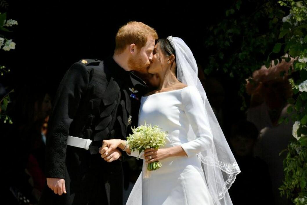Meghan Markle och prins Harry gifter sig