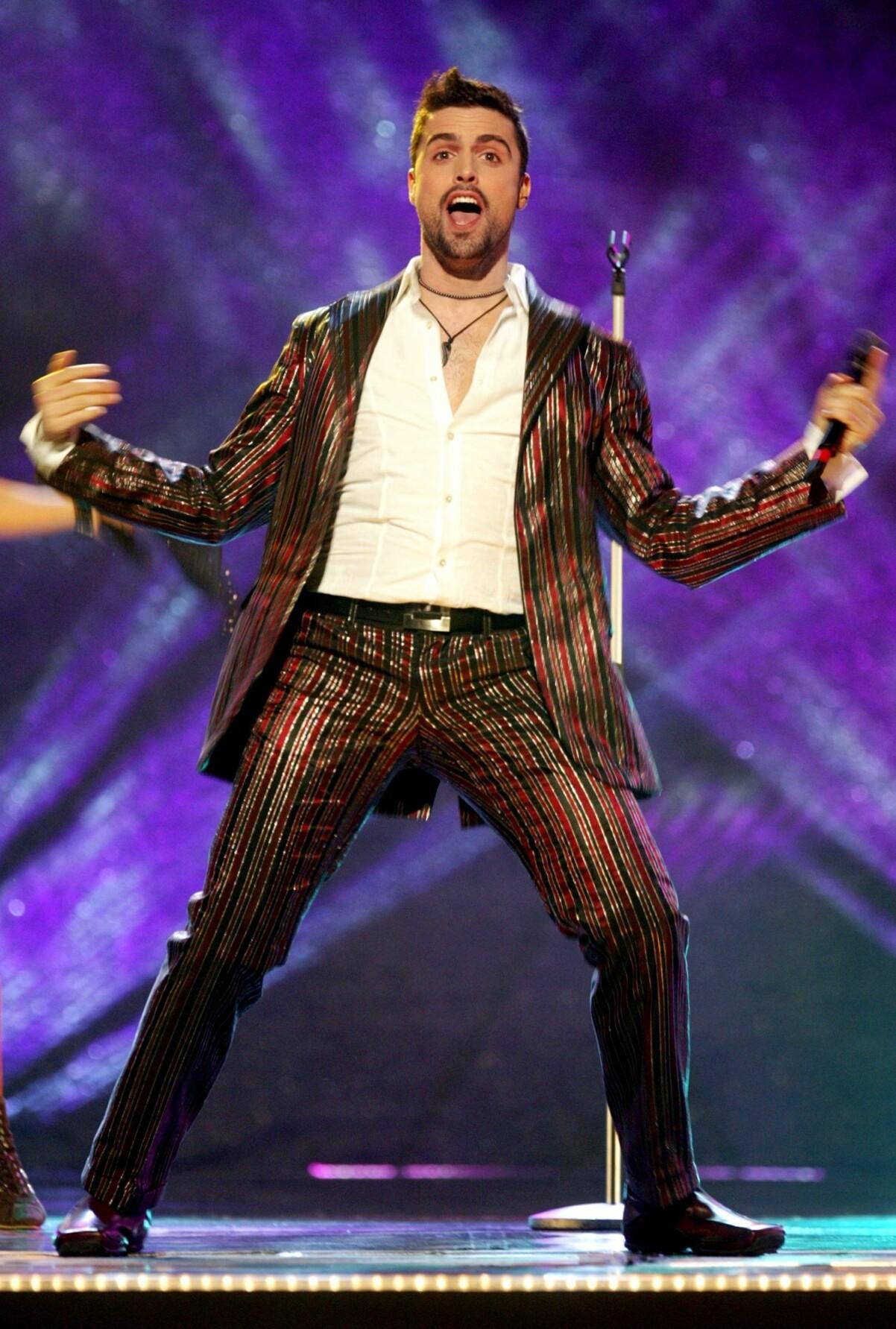 Andrés Esteche i Melodifestivalen