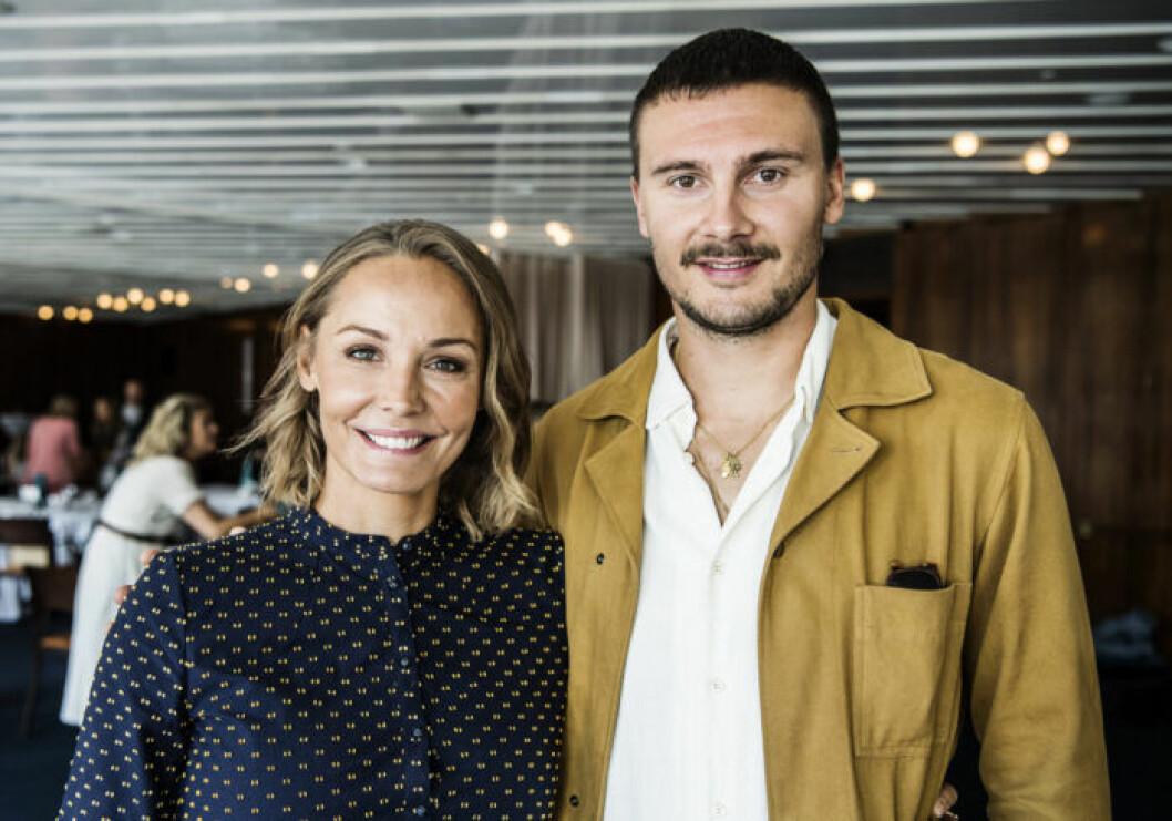 Carina Berg och Erik Berg.