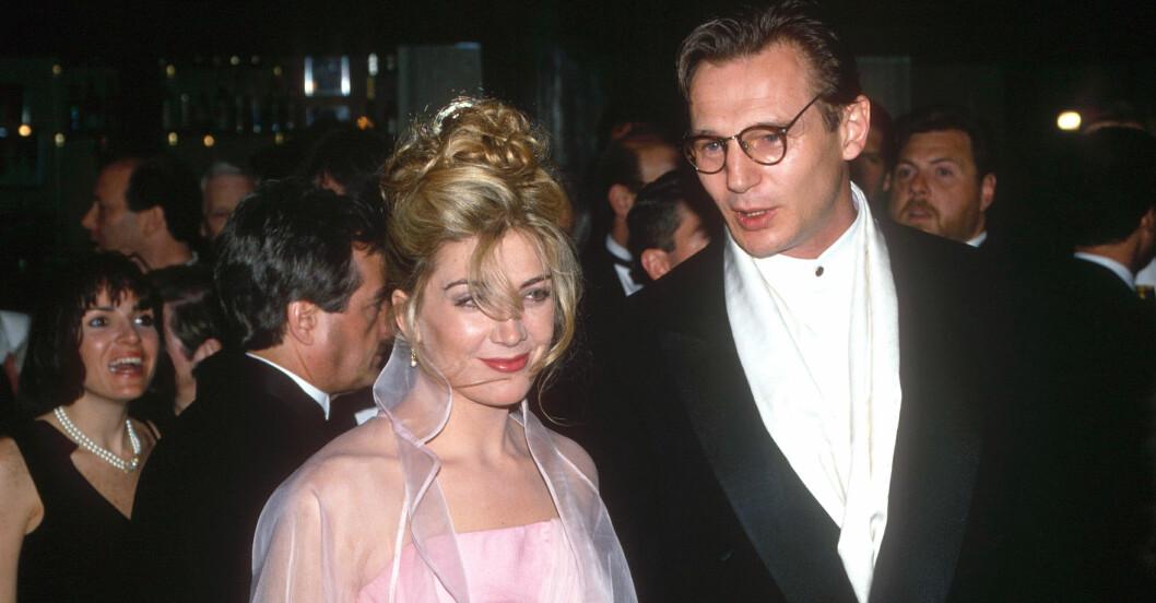 Liam Neeson och Natasha Richardson 1993.