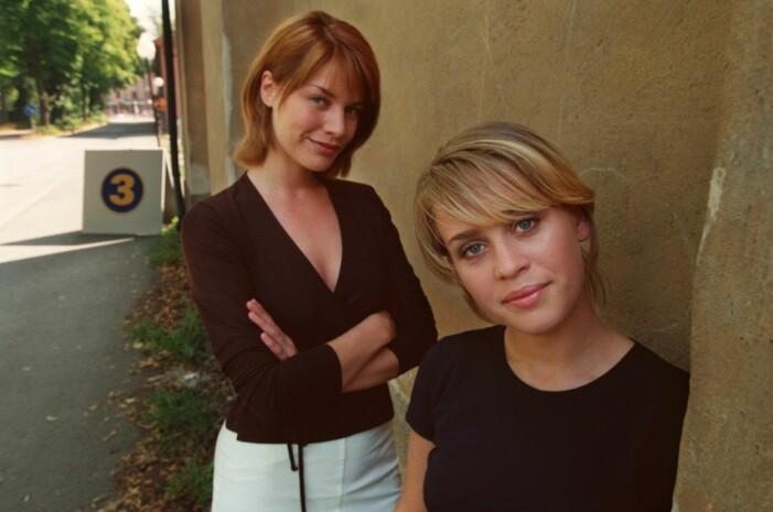 Petra Hultgren och Cajsalisa Ejemyr var med i flera av de dagliga såpoperorna på nittiotalet.