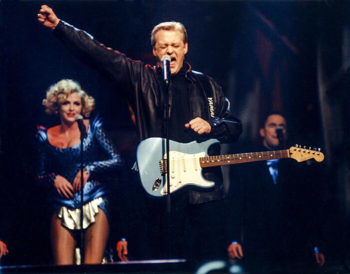 Nick Borgen i Melodifestivalen 1997