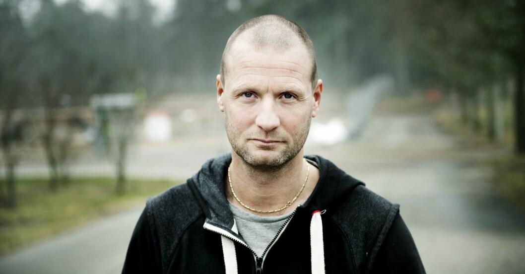 Matti Berenett, såkdespelare från Skilda världar.