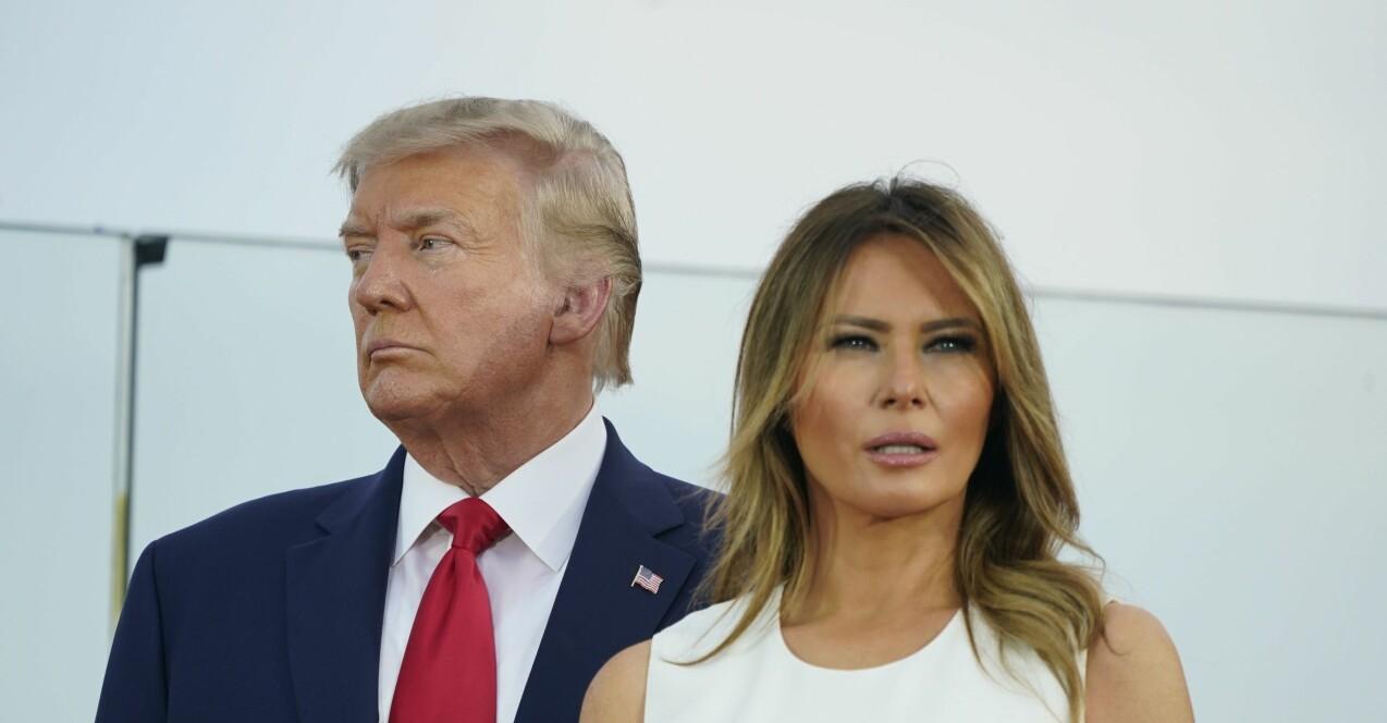 Melania och Donald Trump.