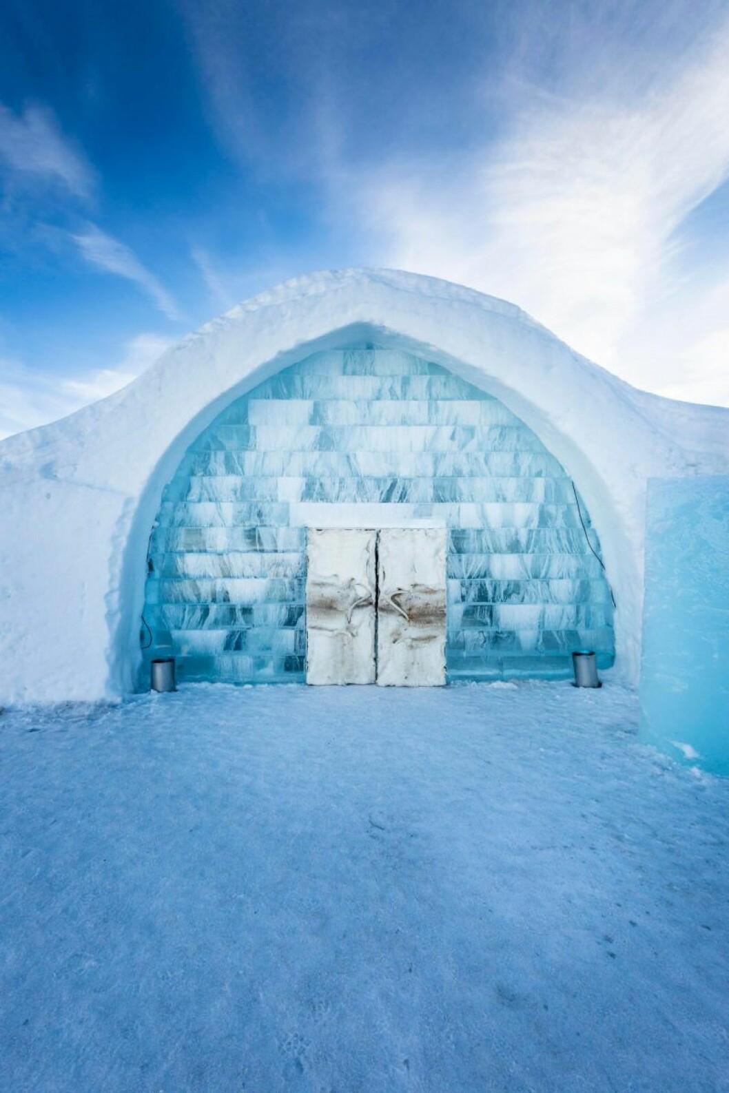 Icehotel i Jukkasjärvi.