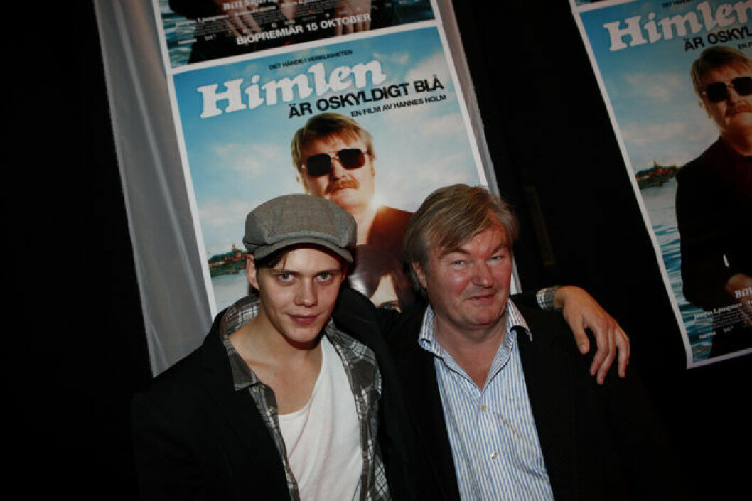 Bill Skarsgård och Peter Dalle