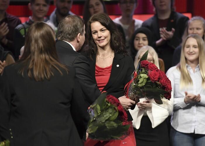 Veronica Palm och Stefan Löfven