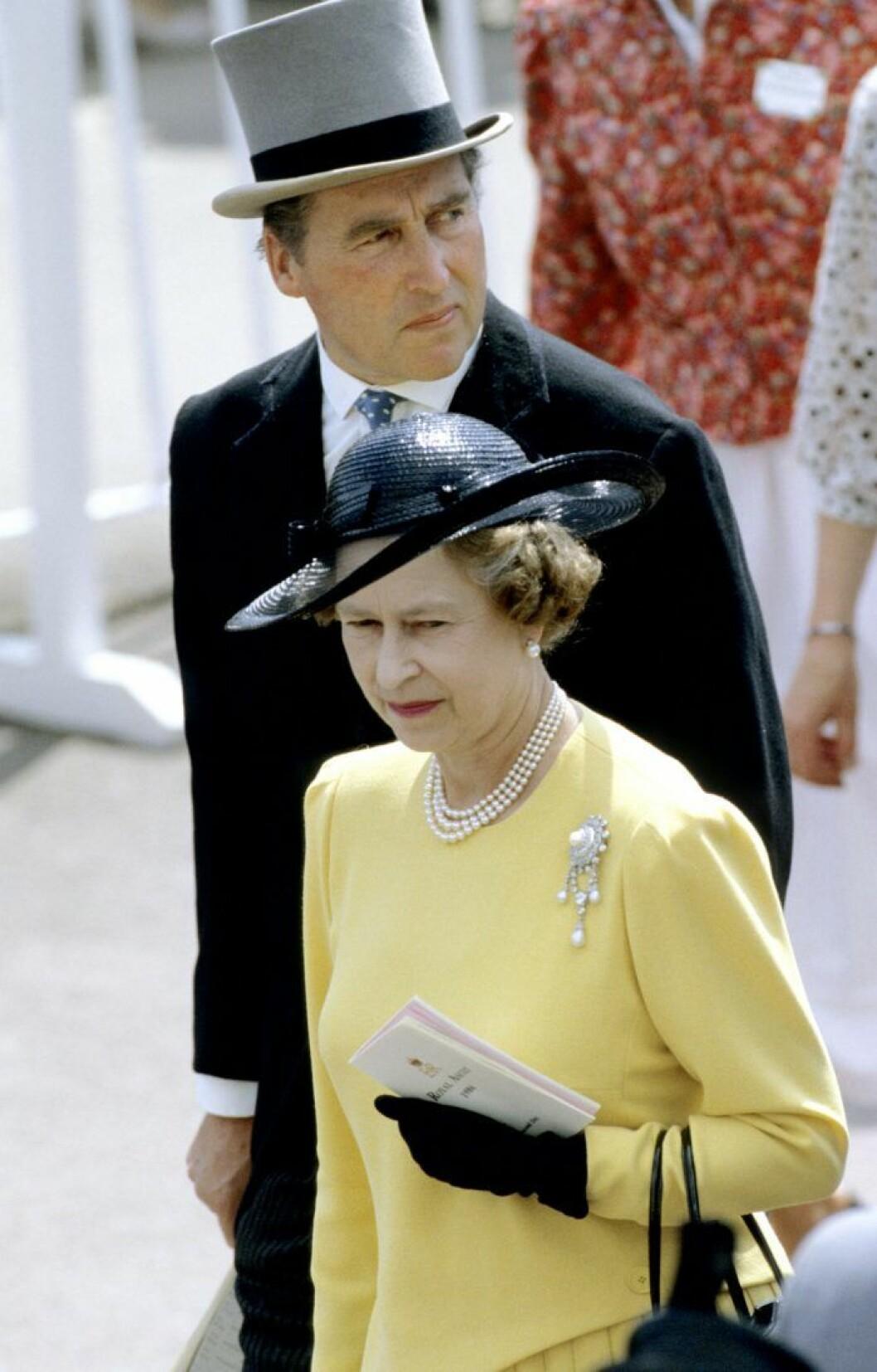 Drottningen med Lorch Porchestser.