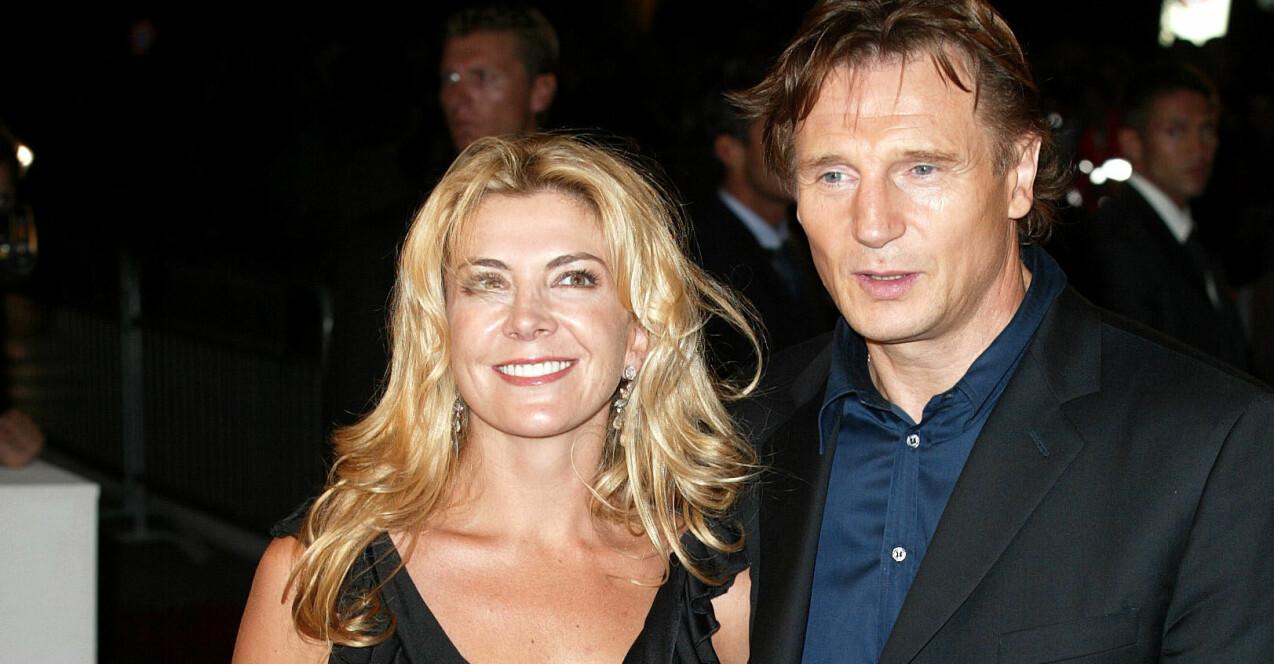Liam Neeson och Natasha Richardson.