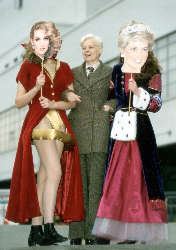 Vivienne Westwood i rutig kostym