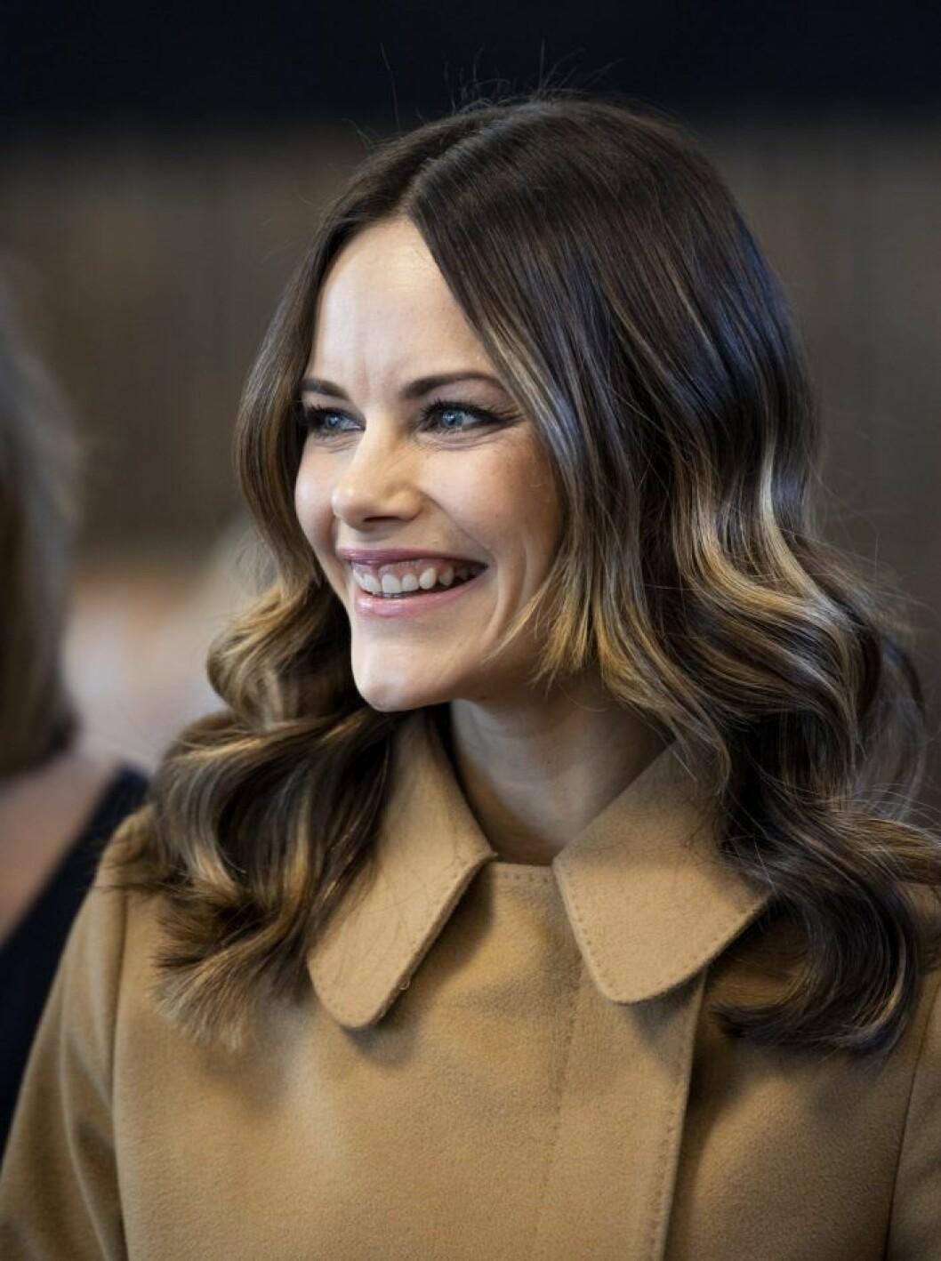 I november var prinsessan Sofia glad på ett besök på Älvdalsskolan i Älvdalen