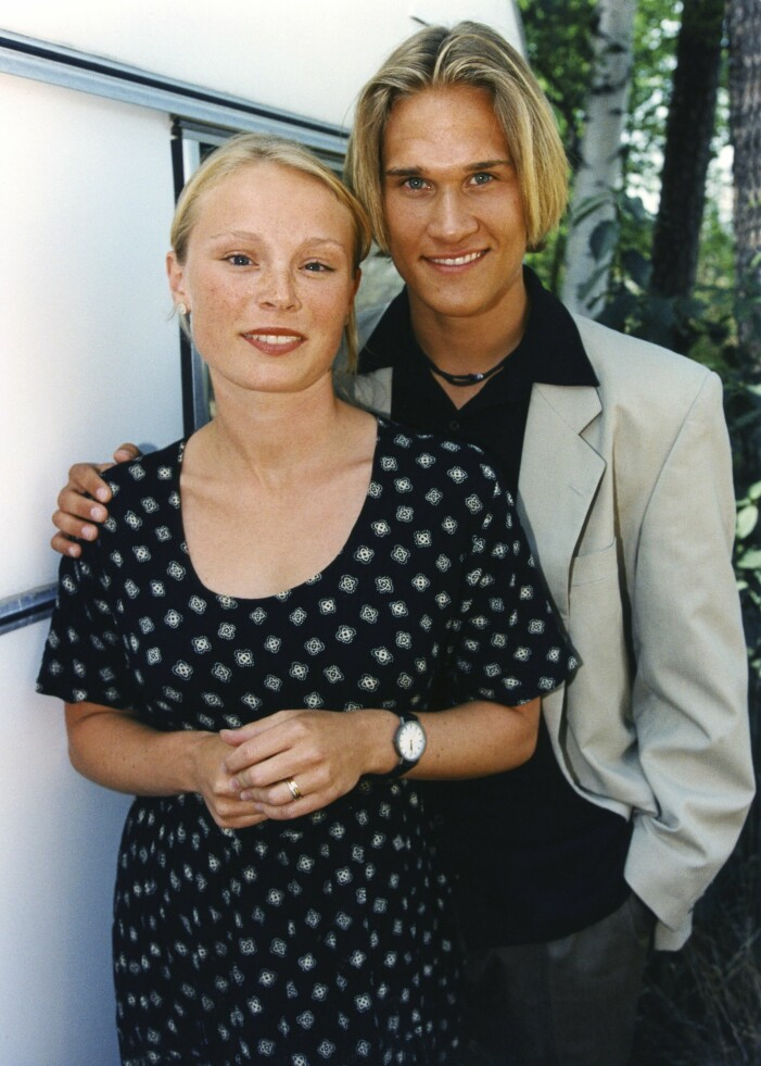 Lina Pleijel och Bengt Dalqvist spelade huvudkaraktärerna i Skilda världar.