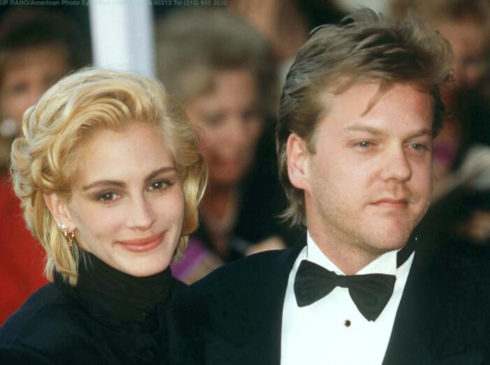 Julia Roberts och Kiefer Sutherland.