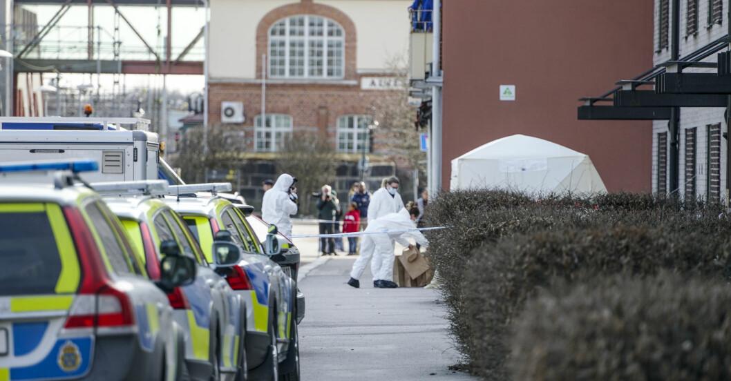 Kvinna misshandlad till döds i centrala Alvesta