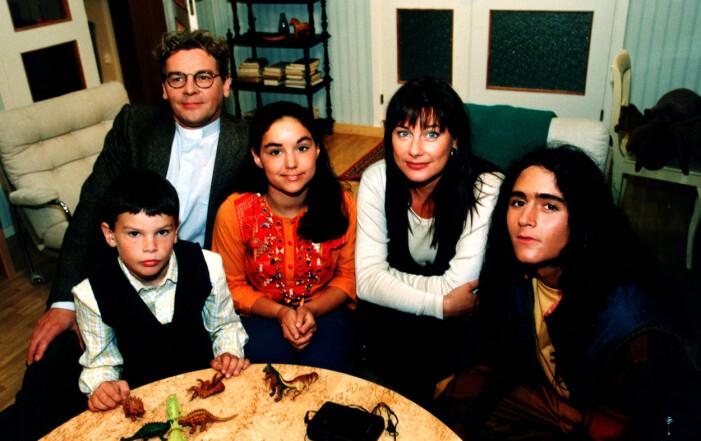 Jonatan Rodriguez, Bengt Järnblad, Polly Kisch och Tina Leijonberg från Tre Kronor-tiden.