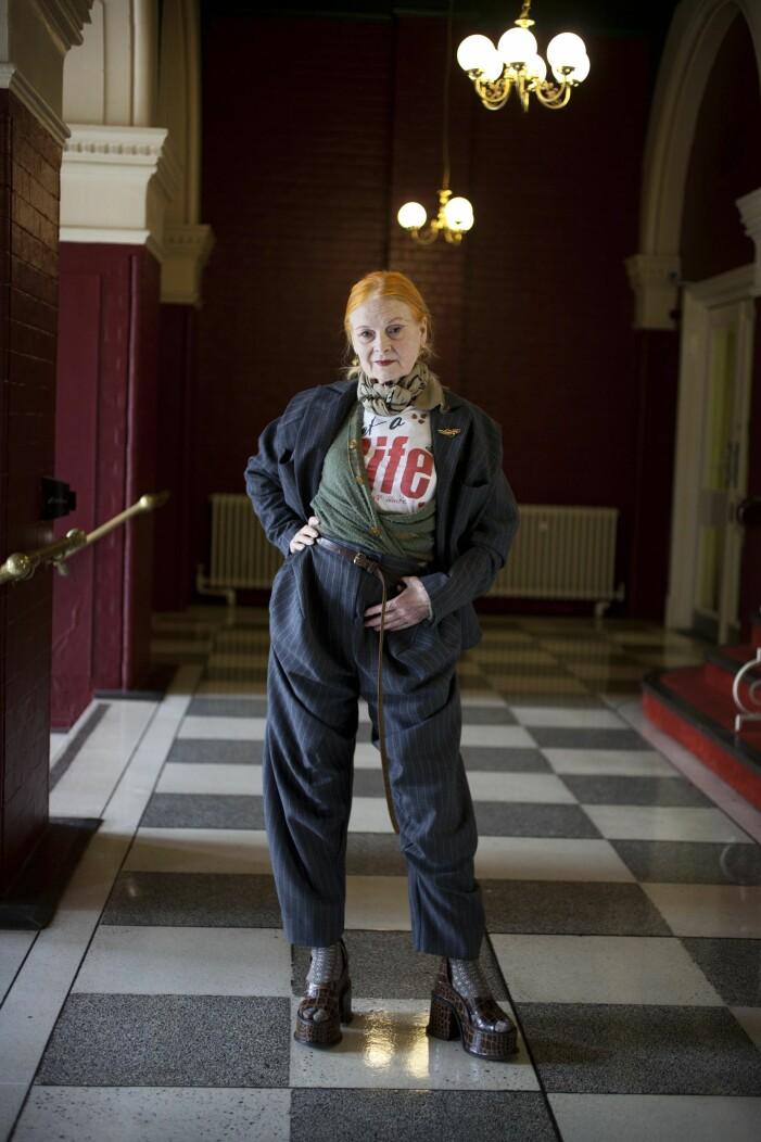 Vivienne Westwood i platåklackar med krokoprint