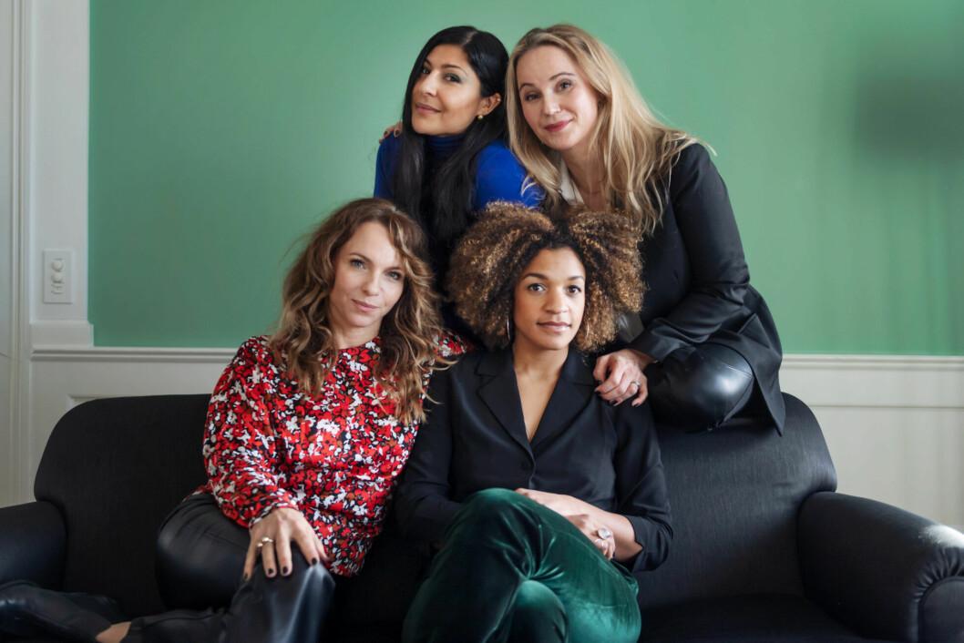 Bahar Pars, Sofia Helin, Sofia Ledarp och Angelika Prick