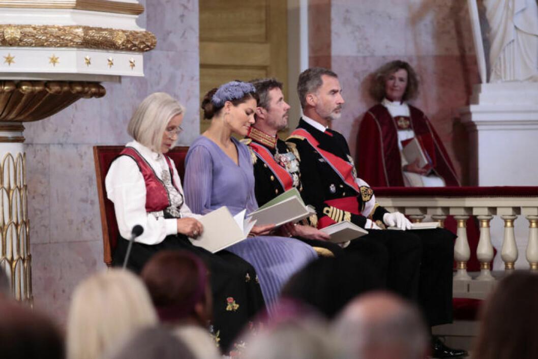 Victoria i slottskapellet i Oslo