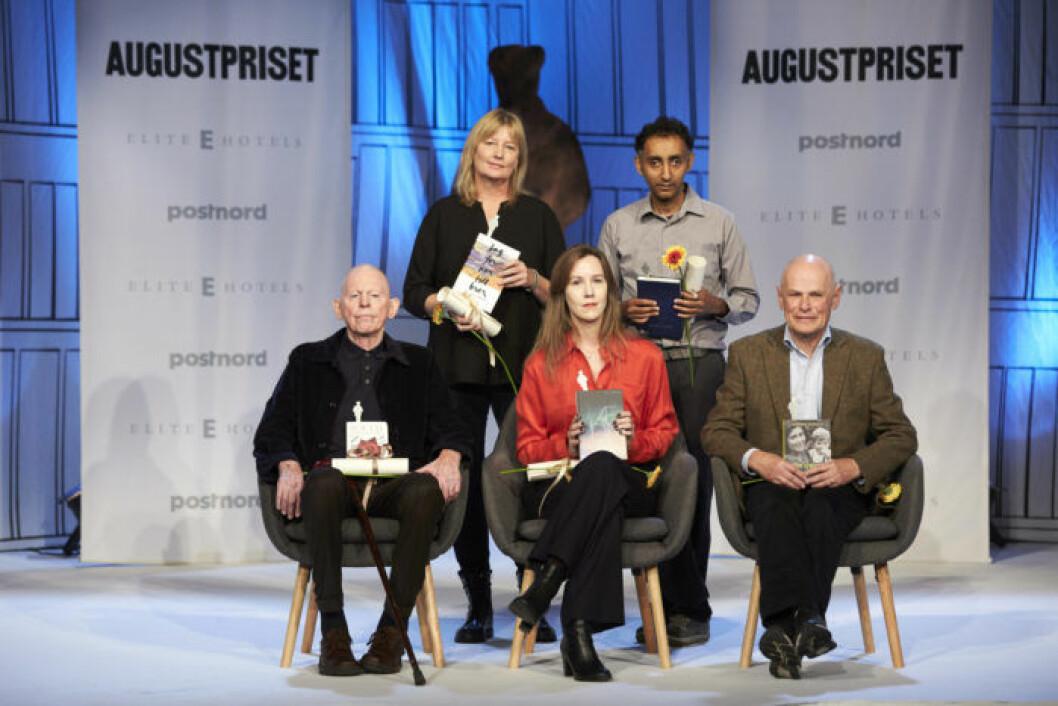 De nominerade till Augustpriset Årets skönlitterära bok 2018.