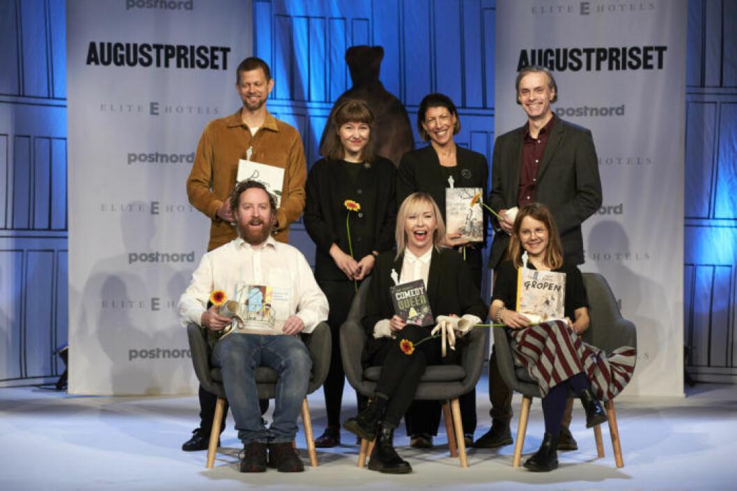 De nominerade till Augustpriset Årets svenska barn- och ungdomsbok 2018.