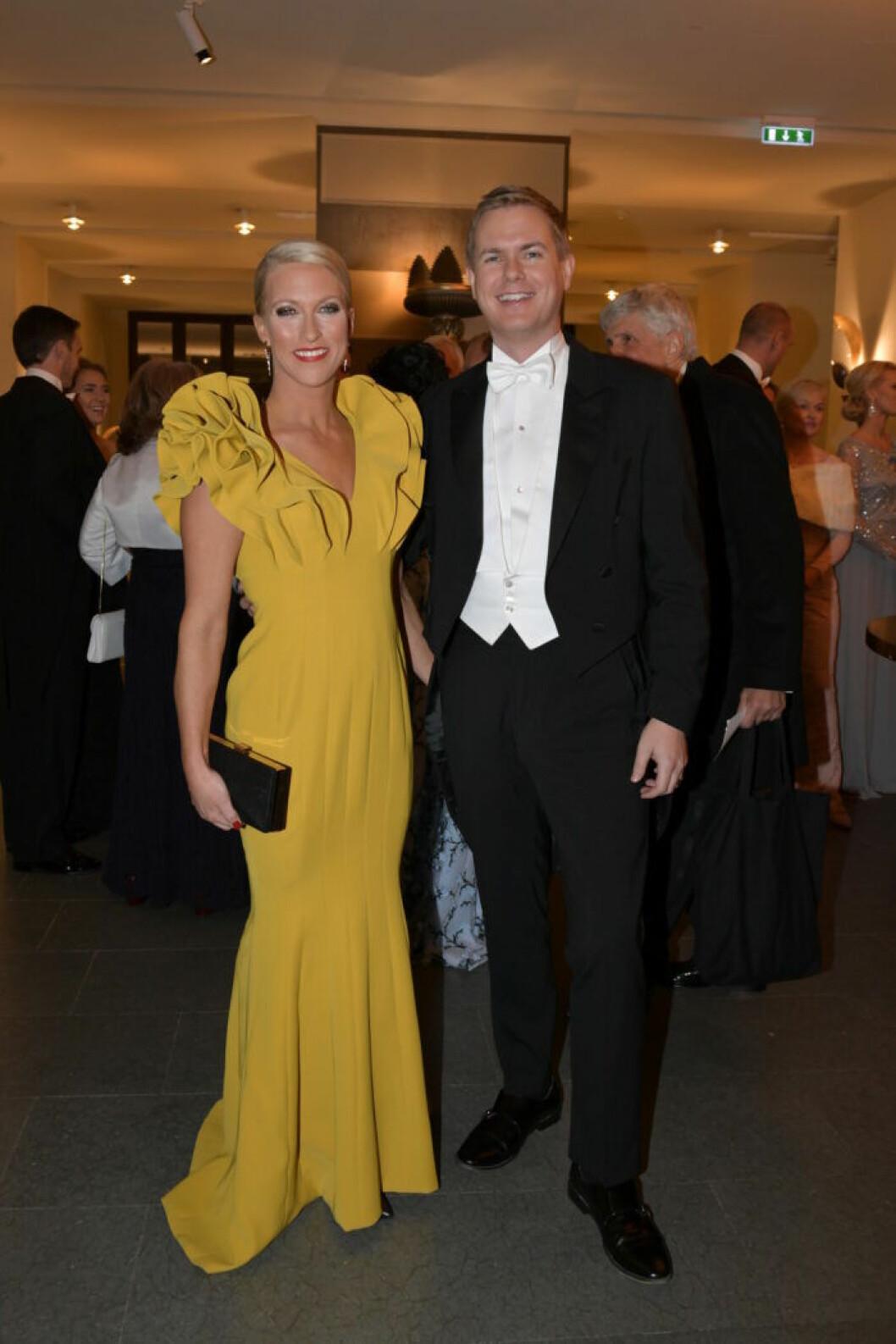 Jennie Fridolin och Gustav Fridolin Nobel 2018