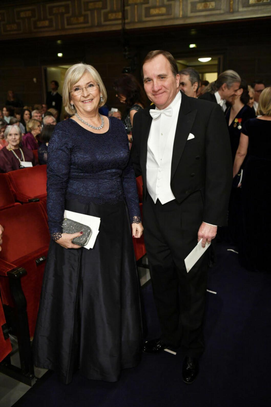 Ulla och Stefan Löfven Nobel 2018